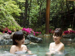 紅梅亭大浴場「花てらす」 心身ともにリフレッシュ
