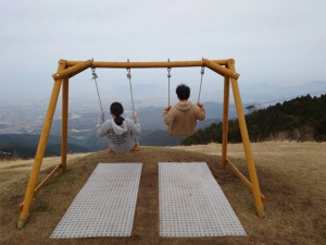 【雲辺寺山頂公園】天空のブランコから絶景を堪能♪