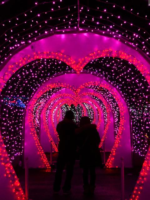 国営讃岐まんのう公園でバレンタイン♥