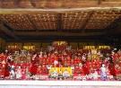 四国村のひな飾り