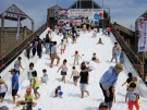 大きな塩の滑り台もある「さかいで塩まつり」 ※5月12日明日の空室あります