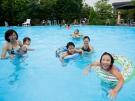 暑い夏は紅梅亭プールで楽しい時間♪