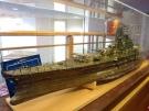 「戦艦大和」展示しています