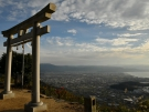 【香川の絶景スポット】天空の鳥居 高屋神社