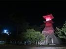 8月31日限定 高燈篭・鞘橋ライトアップ