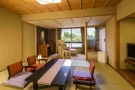 露天風呂付客室 プライベートな空間で味わうことができます