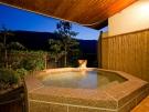 貸切露天風呂でプライベートな温泉を満喫♪(宿泊者限定)