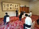 武田料理長「現代の名工」受賞 記念品贈呈式を実施いたしました。
